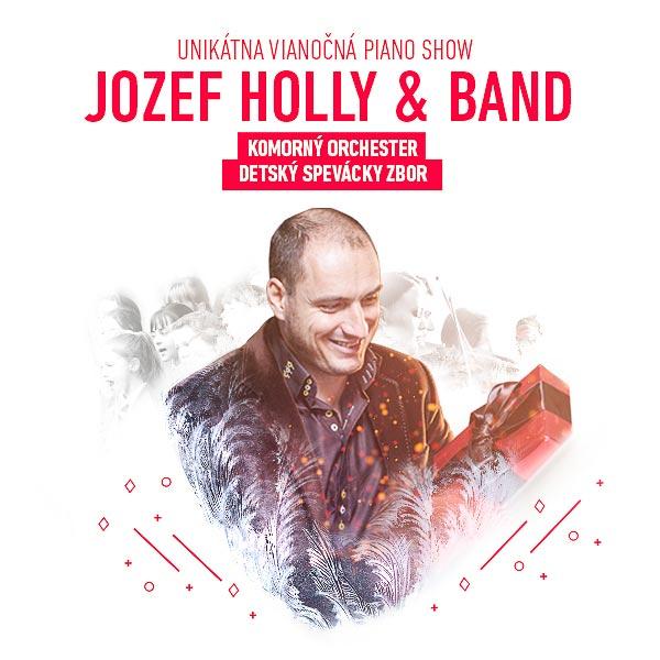 JOZEF HOLLY & BAND - VIANOČNÁ PIANO SHOW
