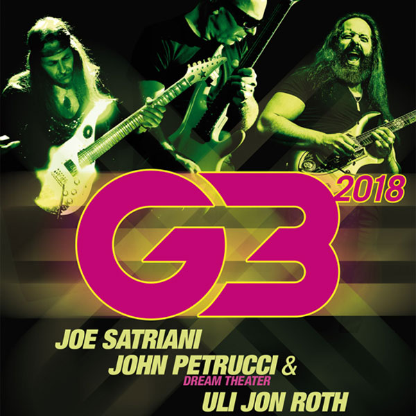 G3 – Joe Satriani, John Petrucci, Uli Jon Roth