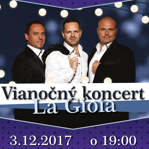 Vianočný koncert La Gioia na Zámku Vígľaš