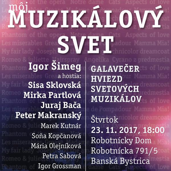 Môj Muzikálový Svet - Igor Šimeg a hostia