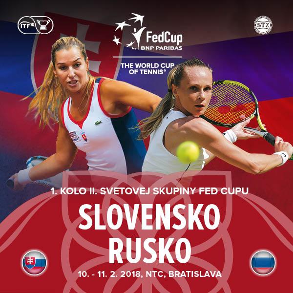 Fed Cup Slovensko - Rusko