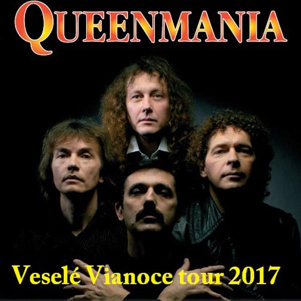 Queenmania Veselé Vianoce tour