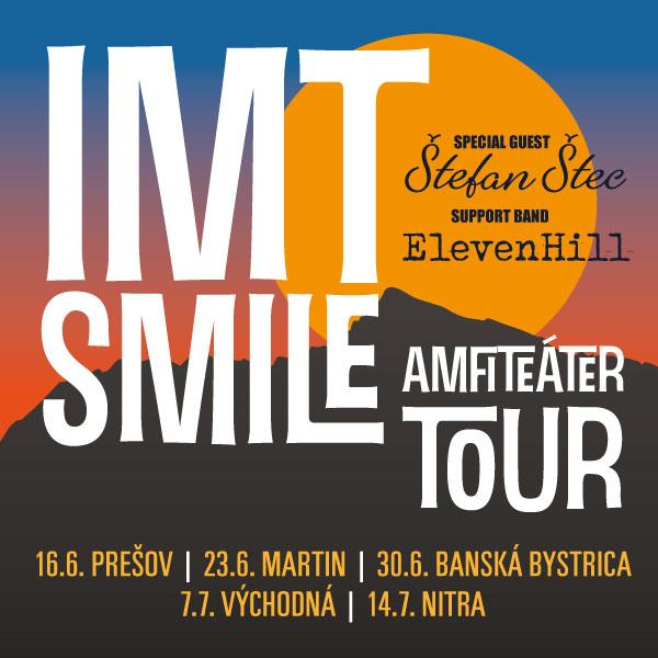 IMT SMILE AMFITEÁTER TOUR 2018