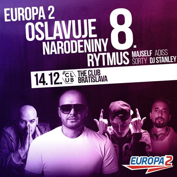 EUROPA 2 – 8 NARODENINY