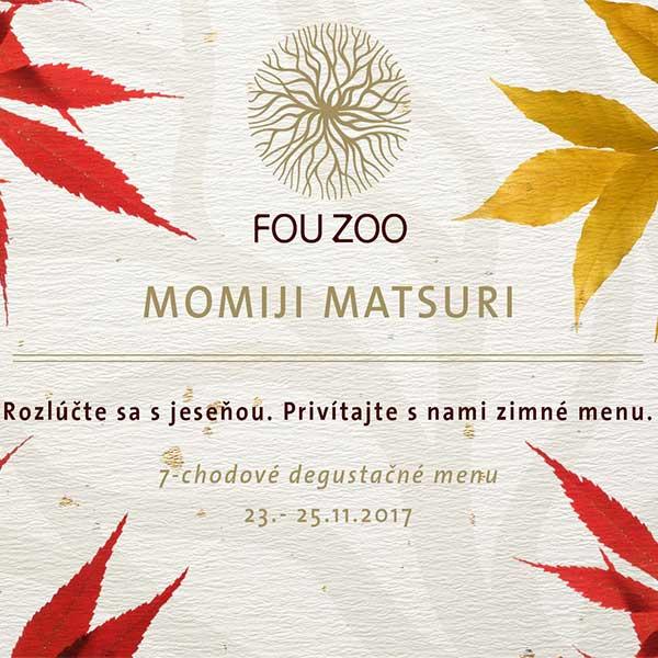 Posledné 3 degustačné večery v reštaurácii Fou Zoo