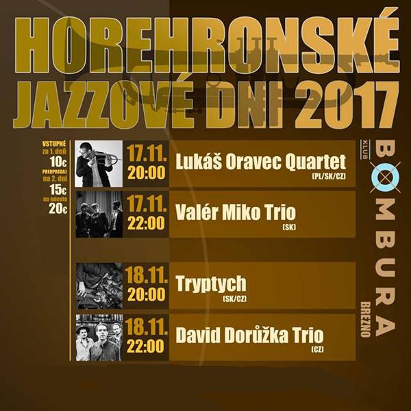 Horehronské Jazzové Dni 2017