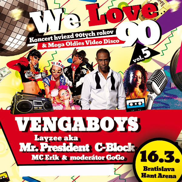 We love 90, vol.5,VENGABOYS,MR.PRESIDENT,C-BLOCK