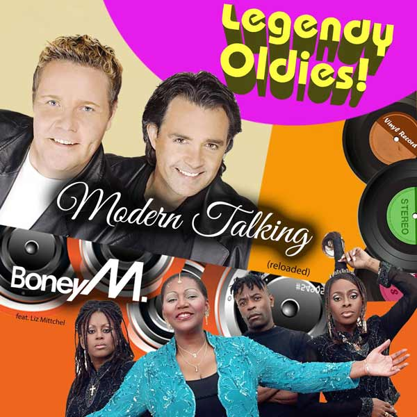 LEGENDY OLDIES Boney M a Modern Talking(reloaded)