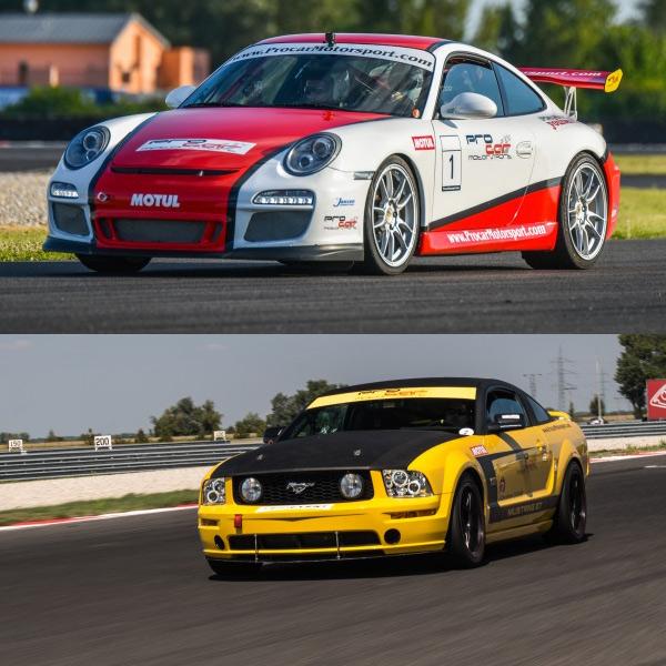 Jazda na Porsche 911 GT3 a Mustangu GT V8