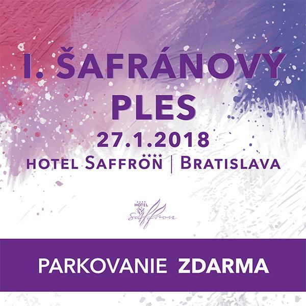 I. Šafránový Ples
