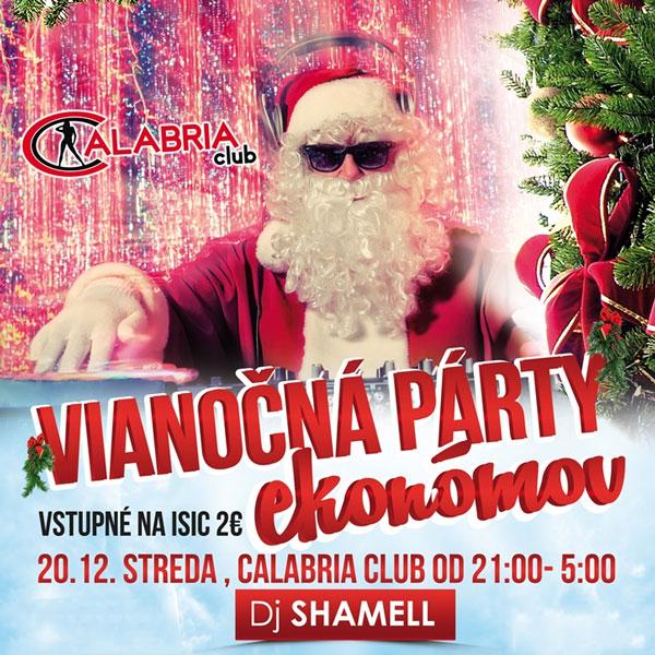 Vianočná PARTY Ekonómov