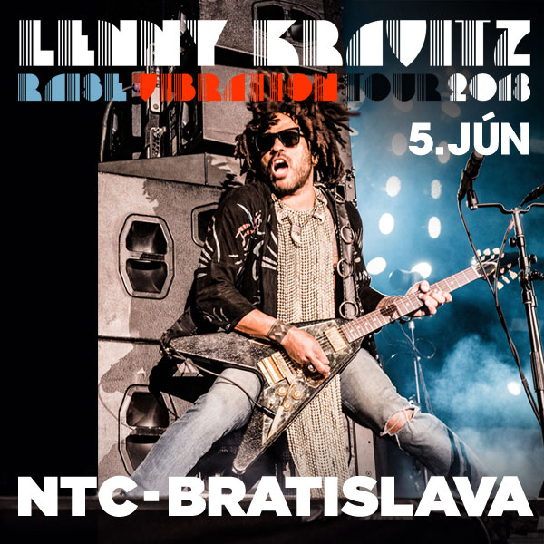 LENNY KRAVITZ: RAISE VIBRATION TOUR 2018