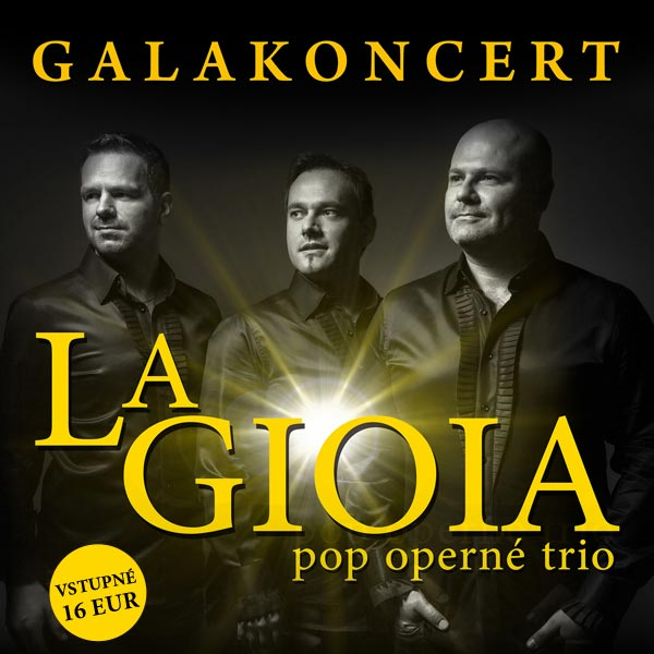 Galakoncert LA GIOIA