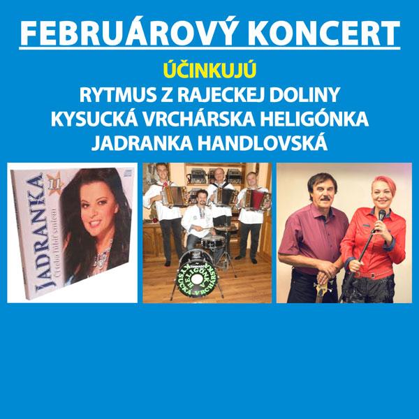 Februárový koncert