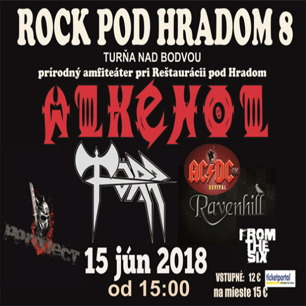 Rock pod hradom 8 / Rock Under The Torna Castle 8