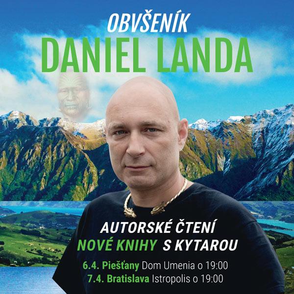 DANIEL LANDA - OBVŠENÍK, autorské čítanie ...