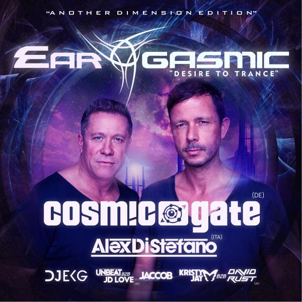 EAR-GASMIC presents COSMIC GATE