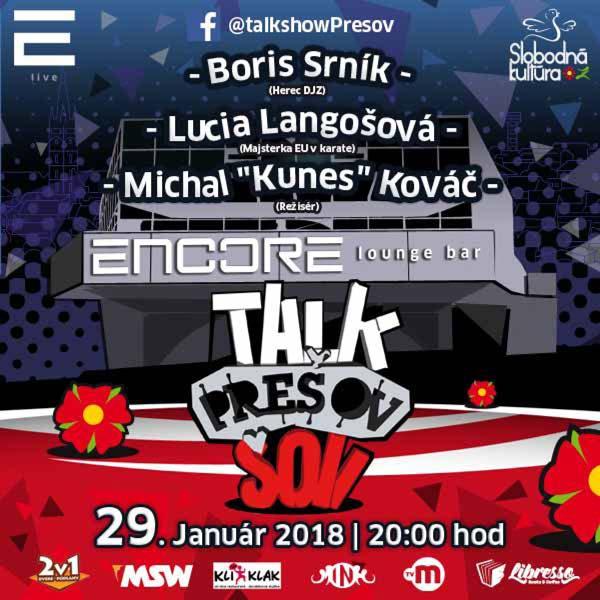 Talkshow Prešov XIV.