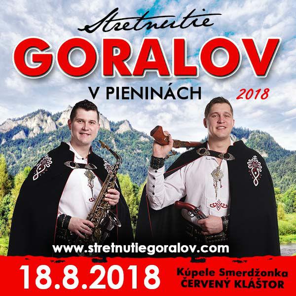 Stretnutie Goralov vPieninách 2018