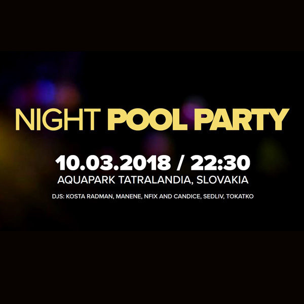THE NIGHT POOL PARTY
