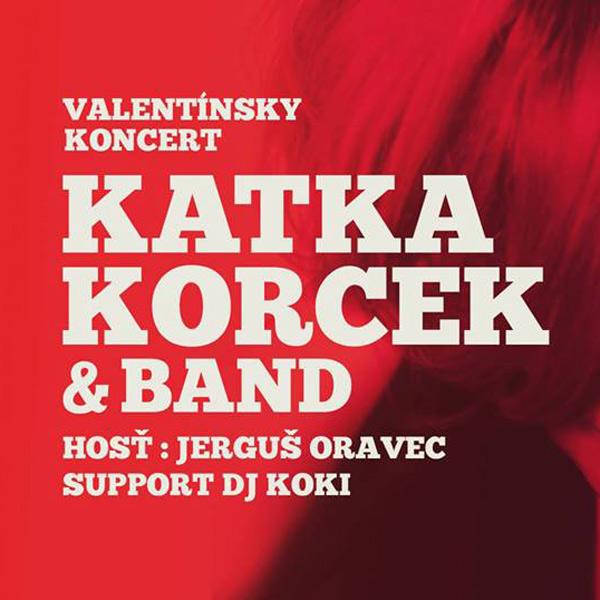 Valentínsky koncert Katky Korcek