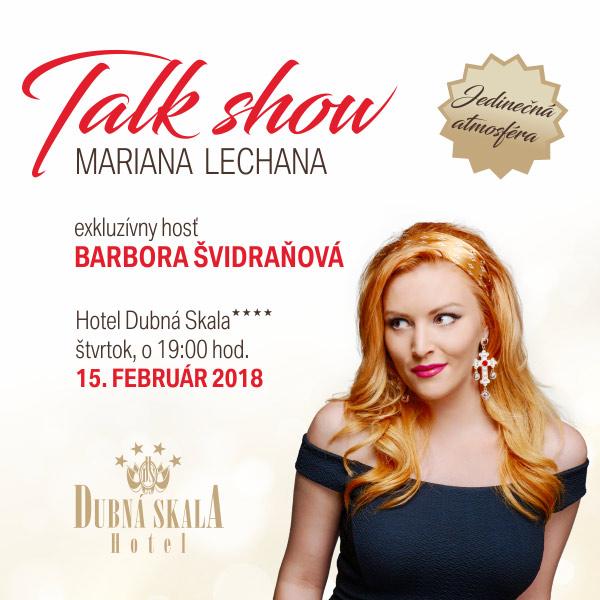 Talkshow M. Lechana s Barborou Švidraňovou