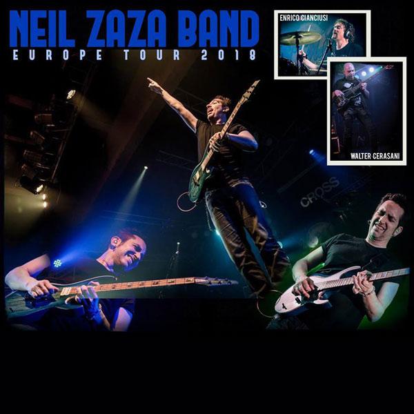 NEIL ZAZA BAND - EUROPE TOUR 2018