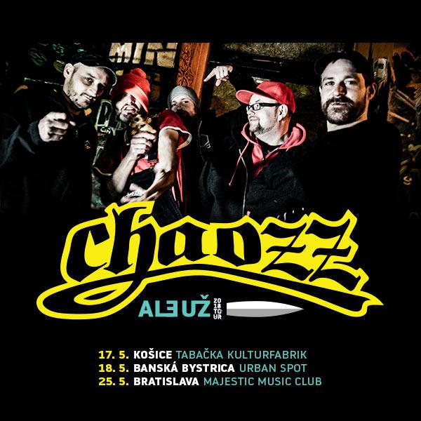 Chaozz Tour 2018 - Po 20 rokoch