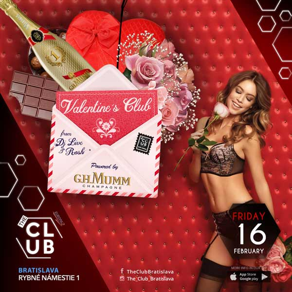 Valentine´s Club from DJ Live & Rosh