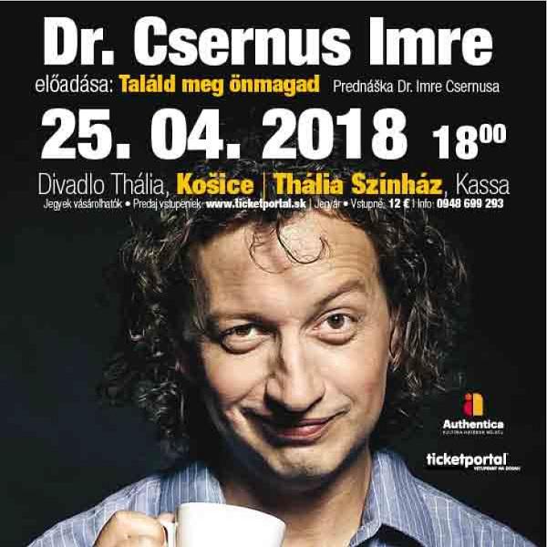 Dr. Csernus Imre – Találd meg önmagad