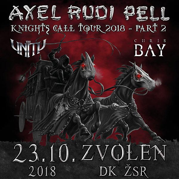 AXEL RUDI PELL (GER) - KNIGHTS CALL TOUR 2018