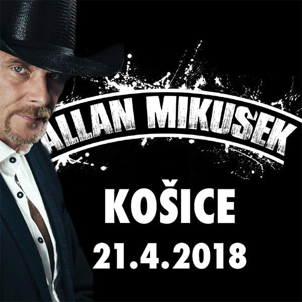 Allan Mikušek - koncert s kapelou