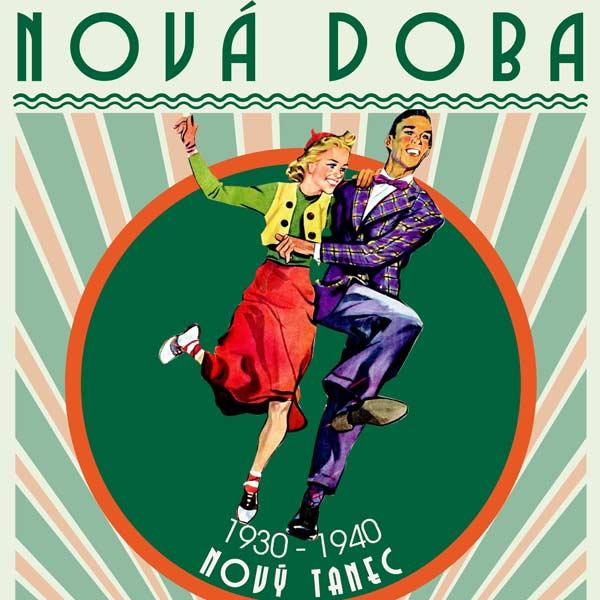 NOVÝ TANEC 1930-1940 Swingového tance-lindy hop