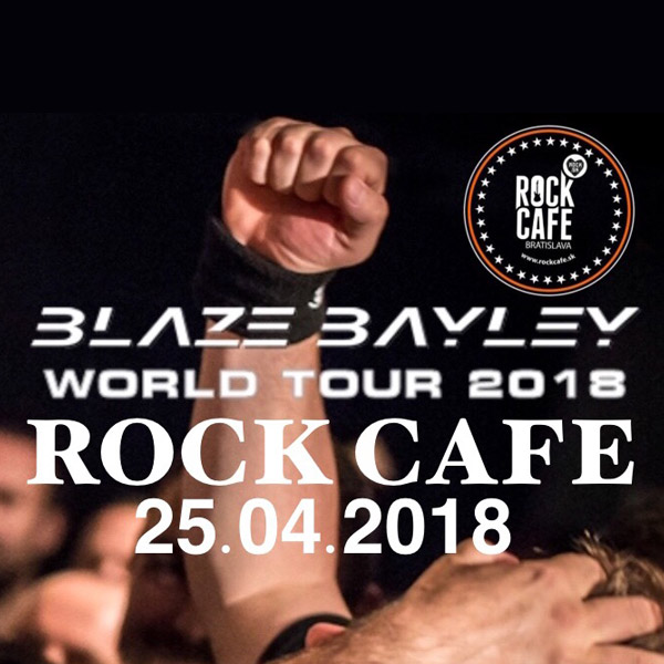 BLAZE BAYLEY WORLD TOUR 2018