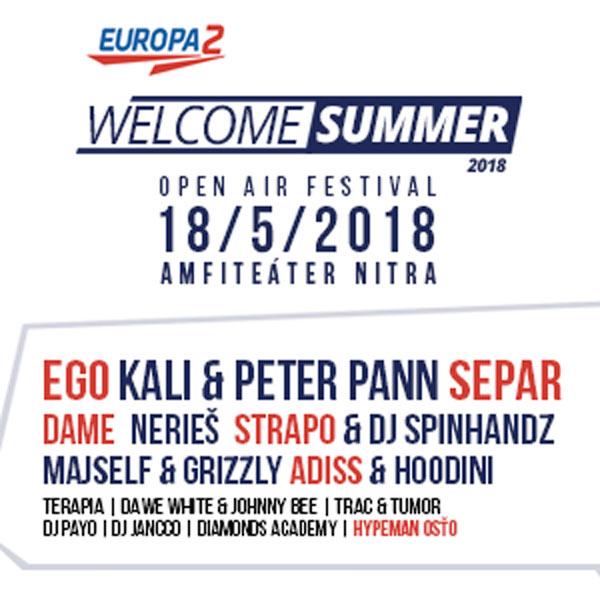 Europa 2 Welcome Summer 2018