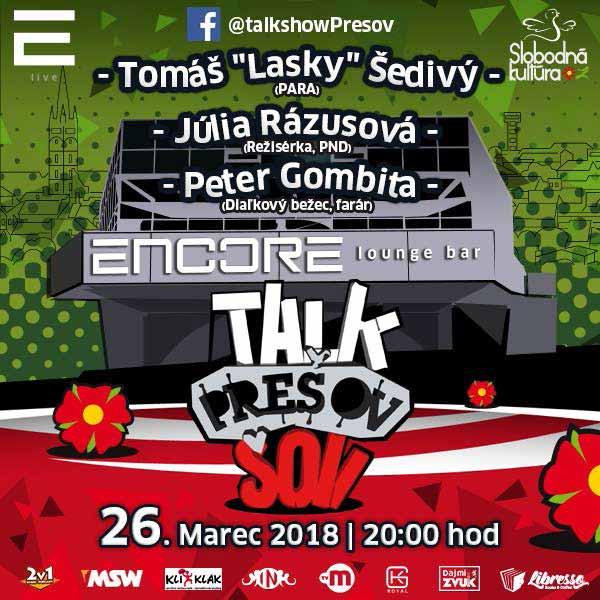 Talkshow Prešov XVI.