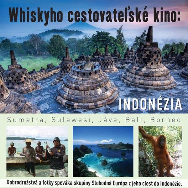 Whiskyho cestovateľské kino - Indonézia