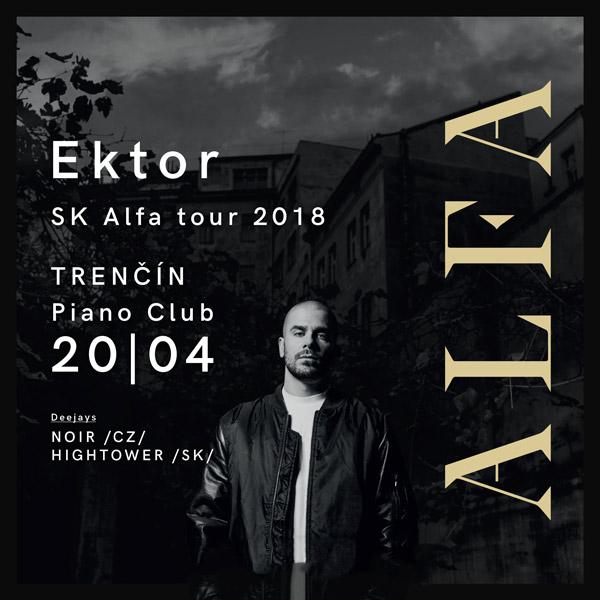 Ektor Alfa SK tour 2018 - Piano Trenčín