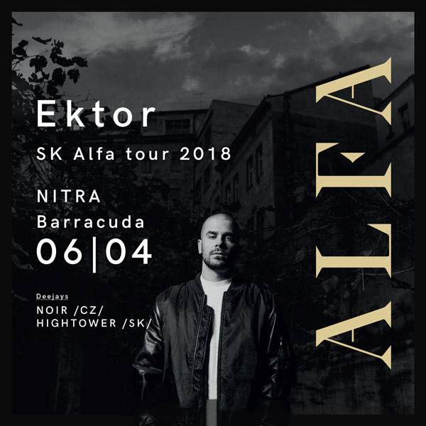 Ektor Alfa SK tour 2018 - Barracuda Nitra
