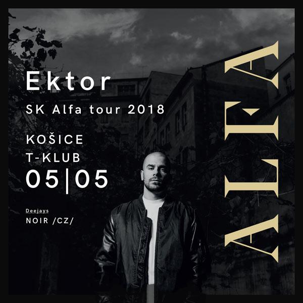 Ektor Alfa SK tour 2018 - T-Klub Košice
