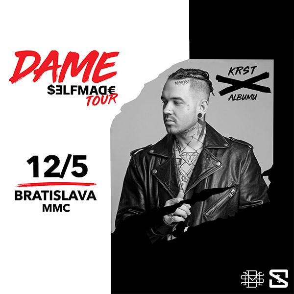 DAME - KRST albumu Selfmade