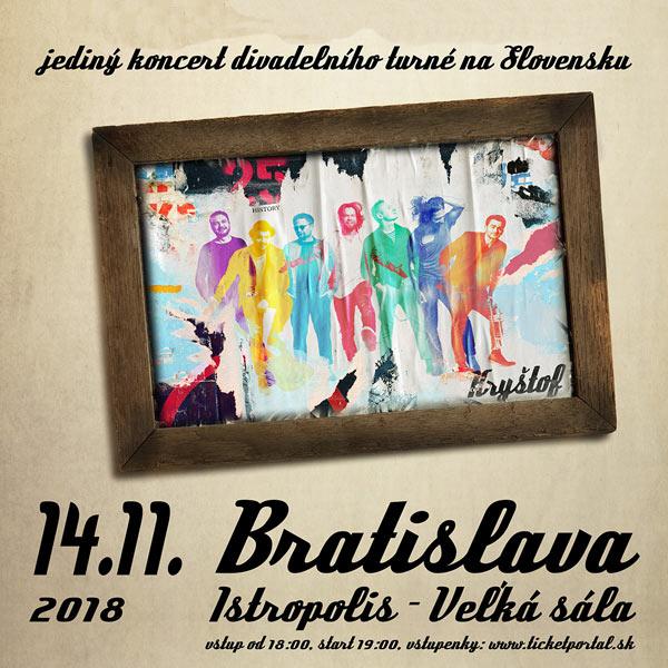 Kryštof – Jenom Písničky Tour 2018