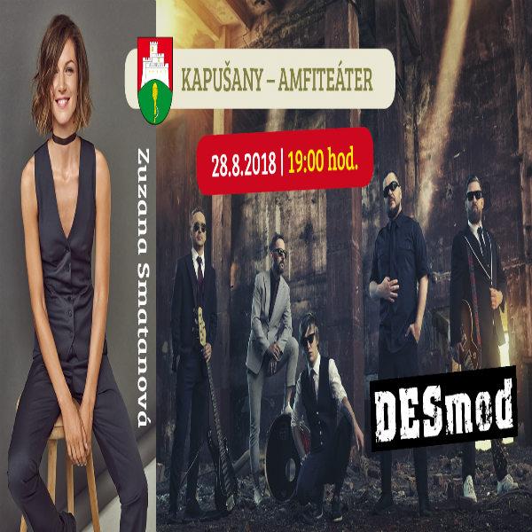 Koncert  Zuzany Smatanovej a skupiny Desmod