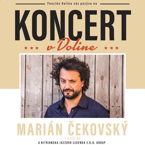 KONCERT v Doline - Marián Čekovský s kapelou