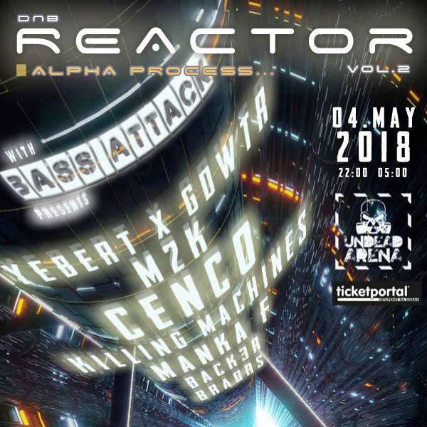 REACTOR: Alpha process