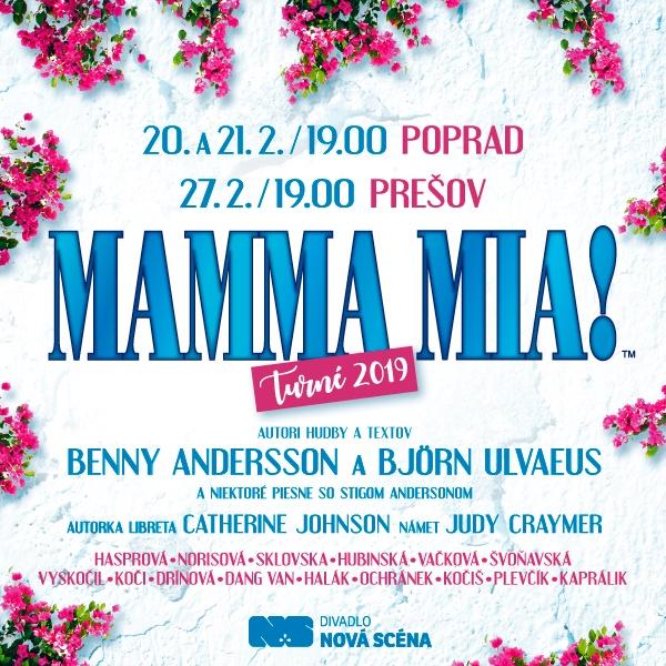 MAMMA MIA! Turné 2019