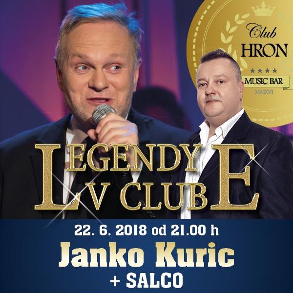 LEGENDY V CLUBE: JANKO KURIC + SALCO