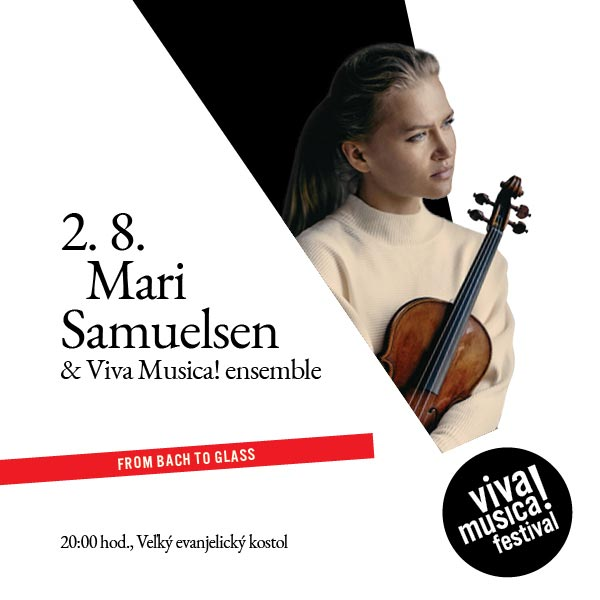 MARI SAMUELSEN: FROM BACH TO GLASS