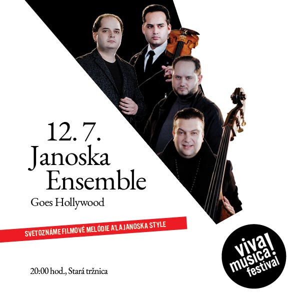 JANOSKA ENSEMBLE GOES HOLLYWOOD