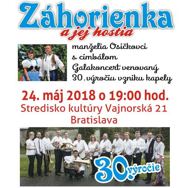Galakoncert Záhorienky a jej hostí ...